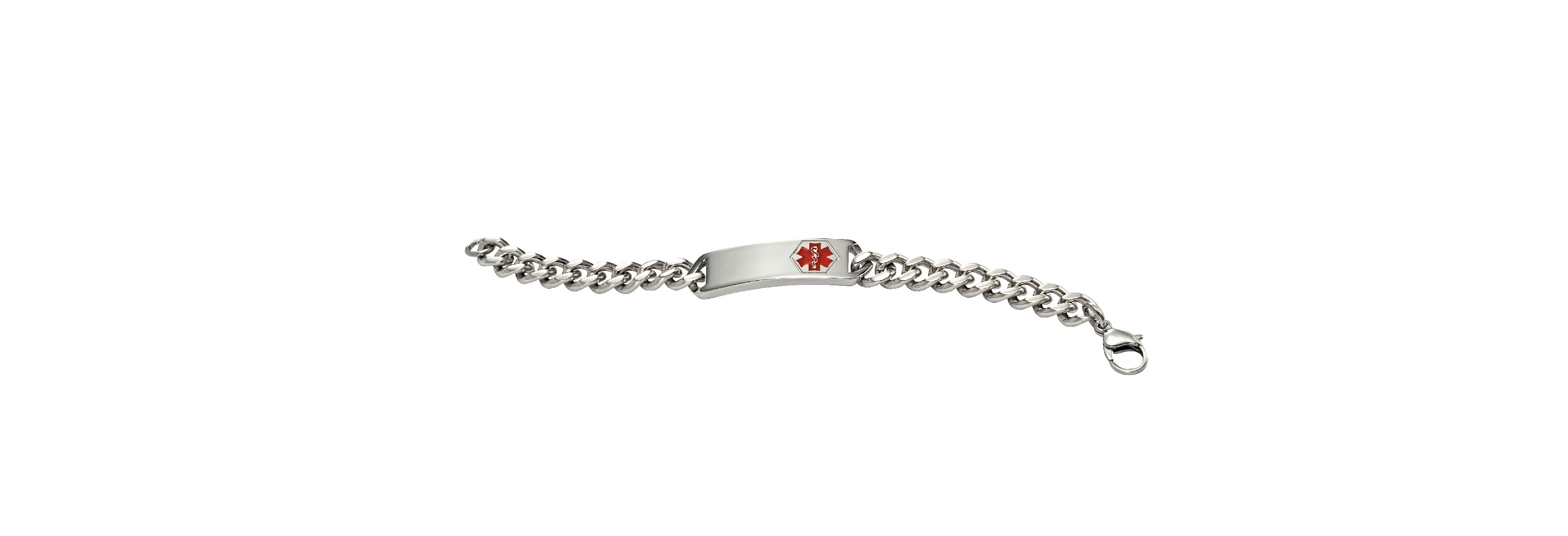 Stainless Steel Classic Medical ID Bracelet - Medical ID