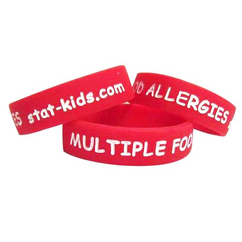 STATkids - Multiple Food Allergies Bracelet - 3 Pack