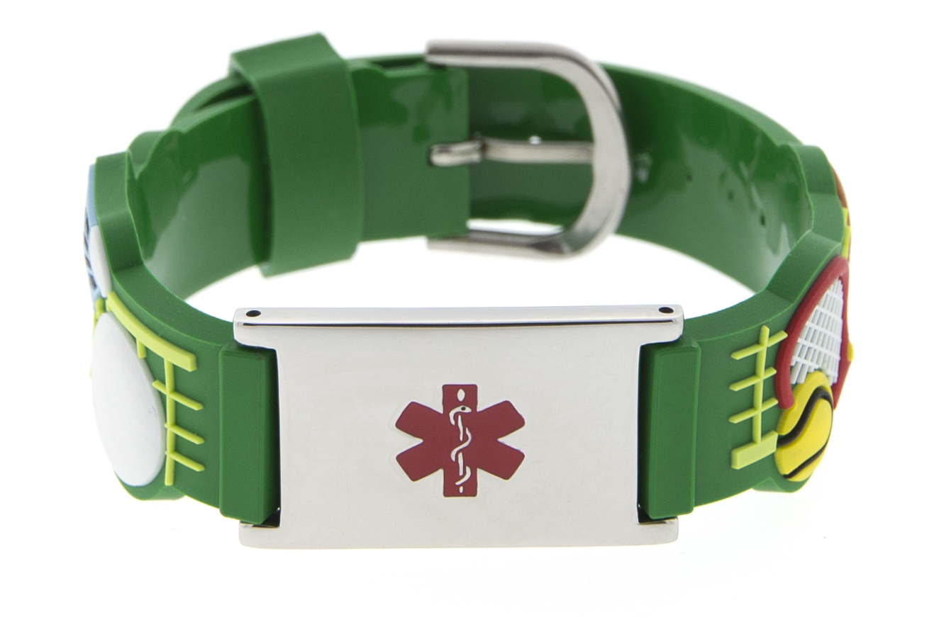 All-Star - Rubber Watch Band Bracelet - Medical ID