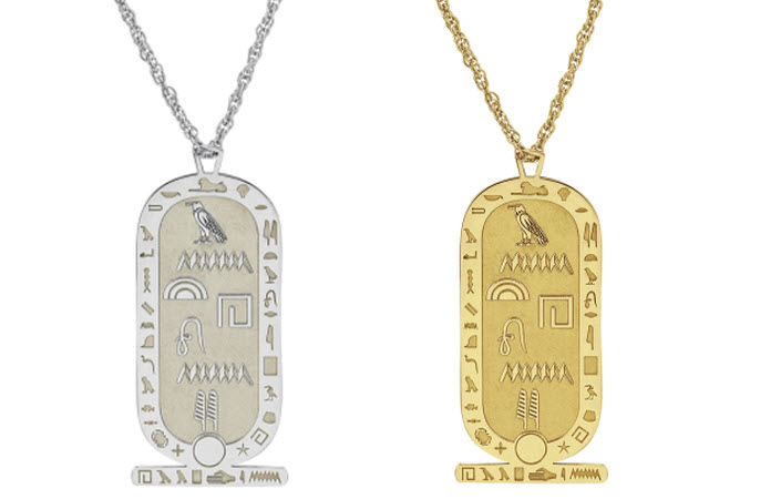 Hieroglyphics Necklace