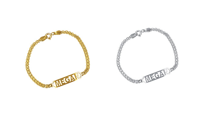 Identification Name Bracelet
