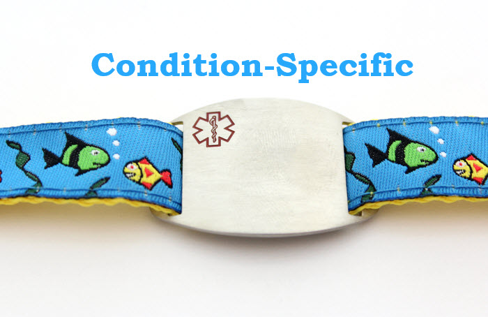 "Condition Specific ""Gone Fishin'"" Bracelet"