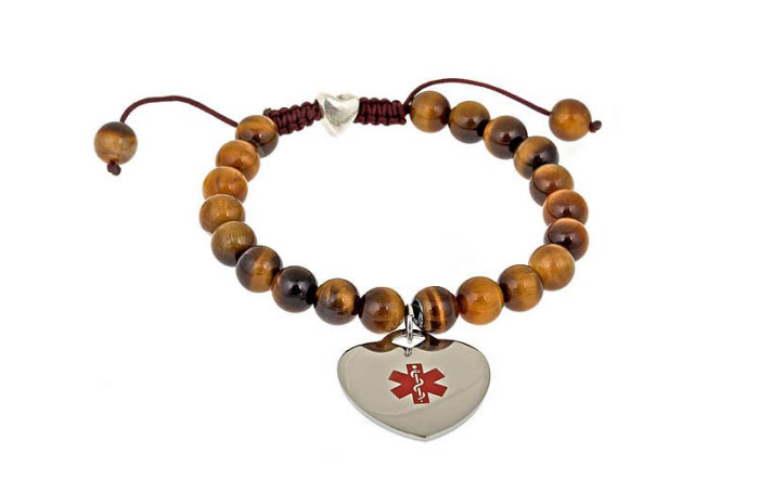 Beaded Pull Style Tiger's Eye