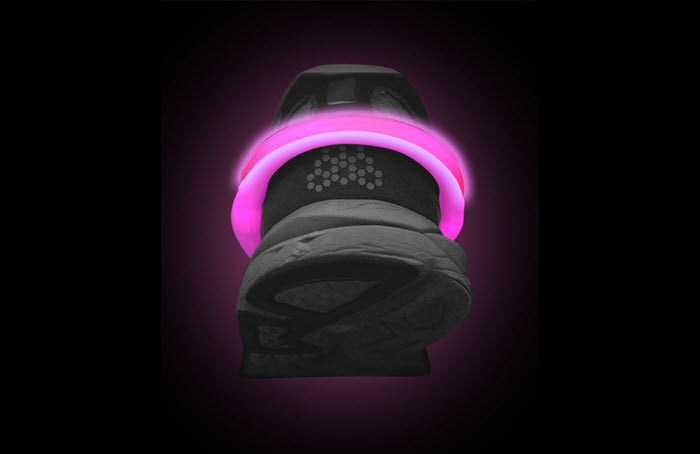 PowerSpurz Pink - LED Heel Light
