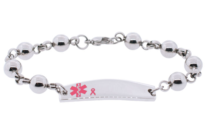 Beaded Style Stainless Steel - BC Ribbon