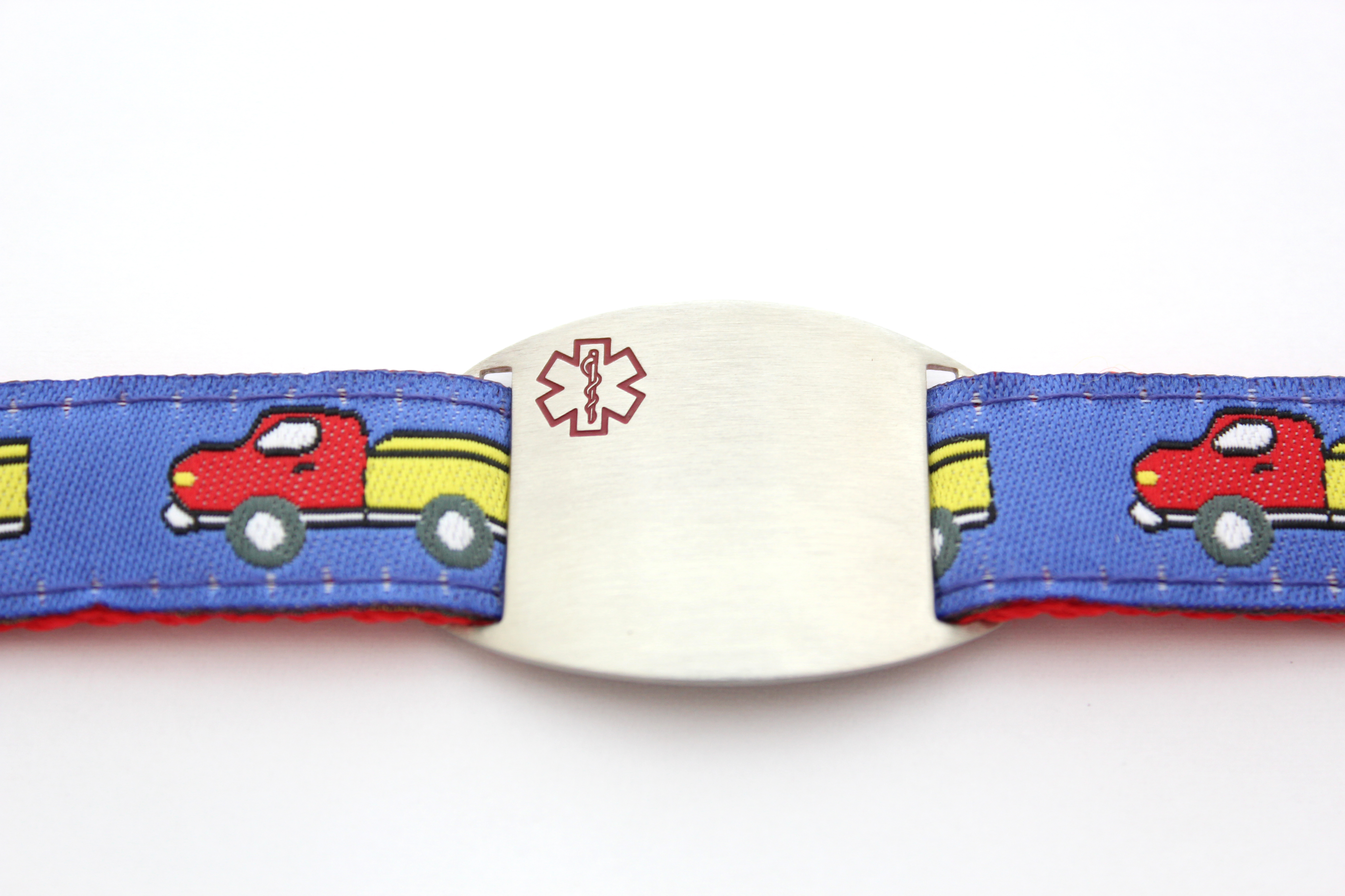 Keep Truckin' - Children's Sports Band Bracelet - Medical ID