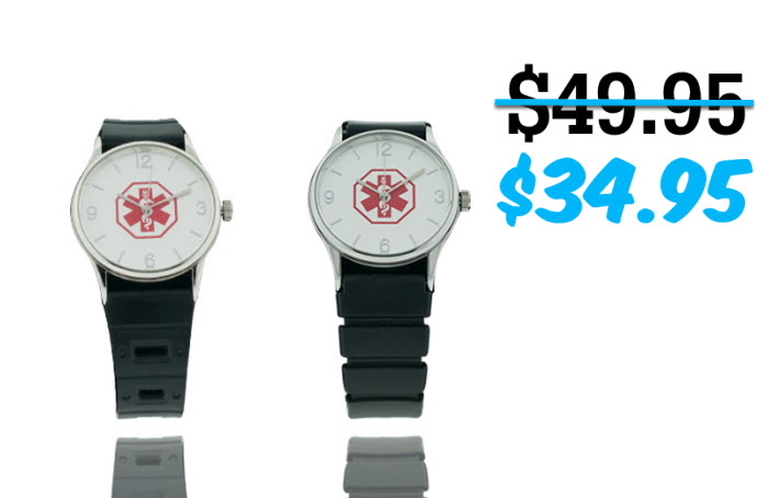 The Anywhere Medical ID Watch - 38mm