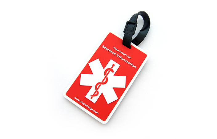 Medical Luggage Tag