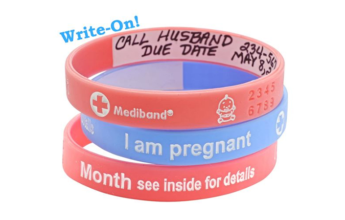 Mediband - Pregnancy - Write Your Own Information Inside