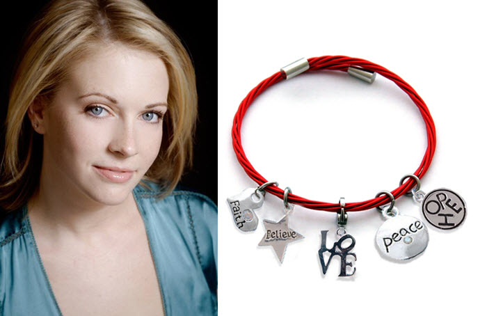 Melissa Joan Hart AWARENESS bracelet to benefit St. Jude Children's Hospital