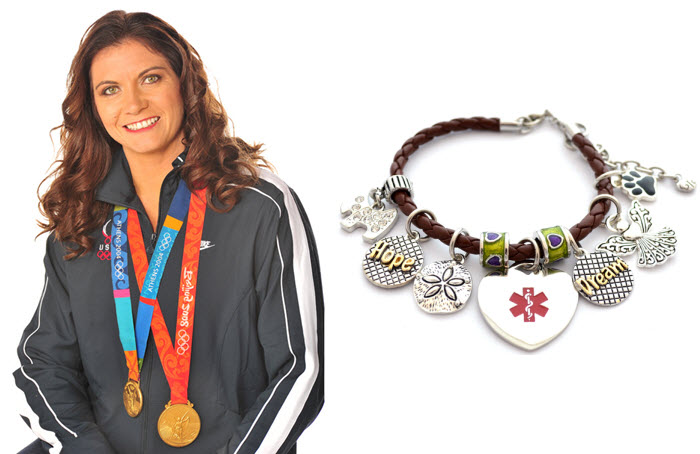 Misty May-Treanor MEDICAL ID to benefit www.BreastCancer.Org