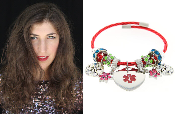 A Mayim Bialik MEDICAL ID to benefit Golisano Children's Hospital at the University of Rochester Medical Center