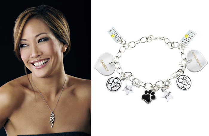 Carrie Ann Inaba AWARENESS bracelet to benefit Sjogrens Syndrome Foundation