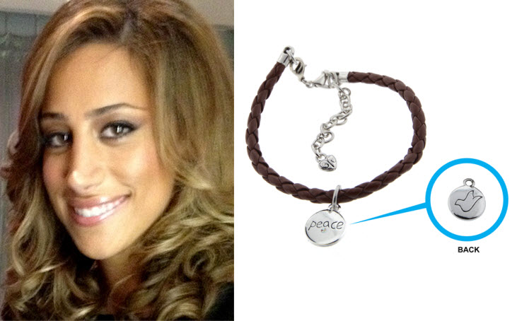 Danielle Jonas AWARENESS bracelet to benefit Change for the Children