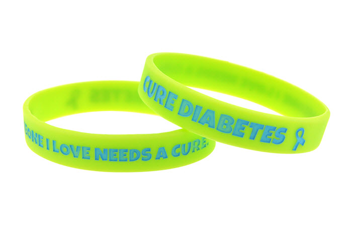 Someone I Love Needs a Cure - Cure Diabetes' Awareness Bracelet