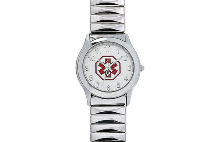Ladies White Expansion Band Watch