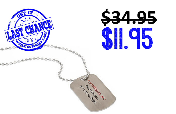 TextID Dog Tag