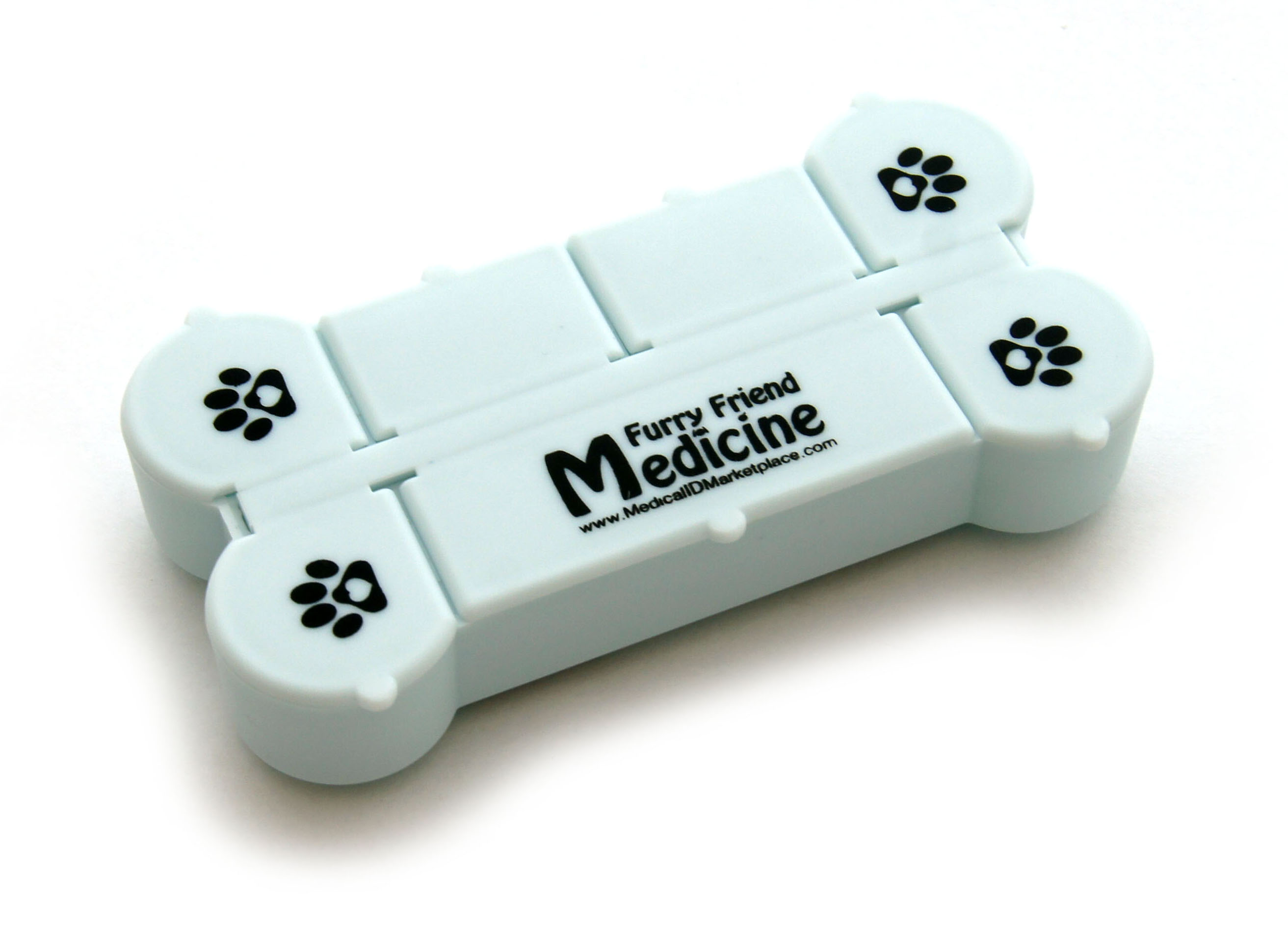 Furry Friend Medicine Container