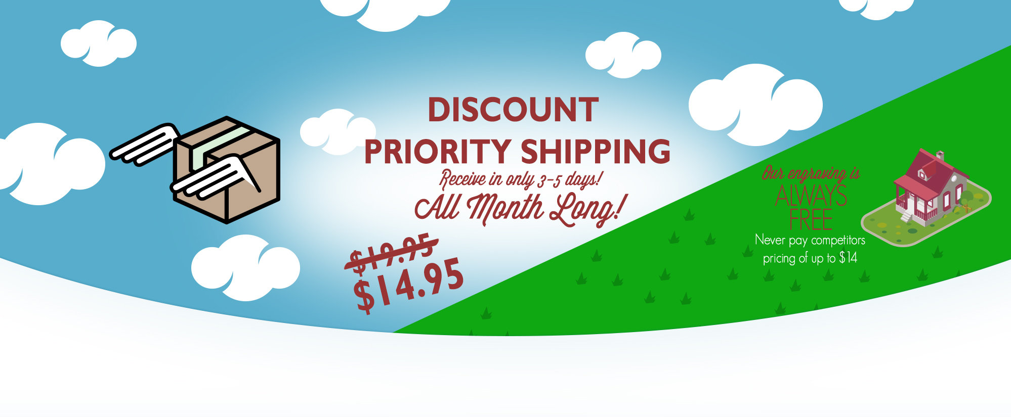 Flash Sale- Discount Priority Shipping